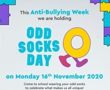 Odd Socks Day flyer
